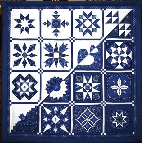 Collected Pieces of Small Size (Positive Negative) by Jozsefne Bekesi (Hungary). Spotted at the 2006 Loch Lomond quilt show.