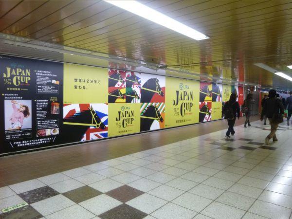 JRA・ジャパンカップ 新宿メトロスーパープレミアムセット 2012.11