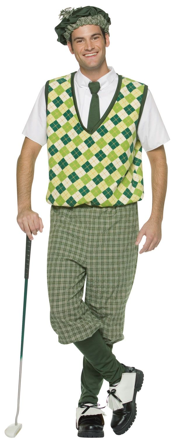 Old Time Golfer Adult Costume Golf Costumes (Item #TRAD329)  $47.55