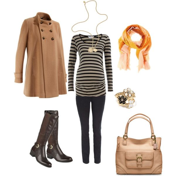 Casual Chic Maternity Outfit - Neutrals