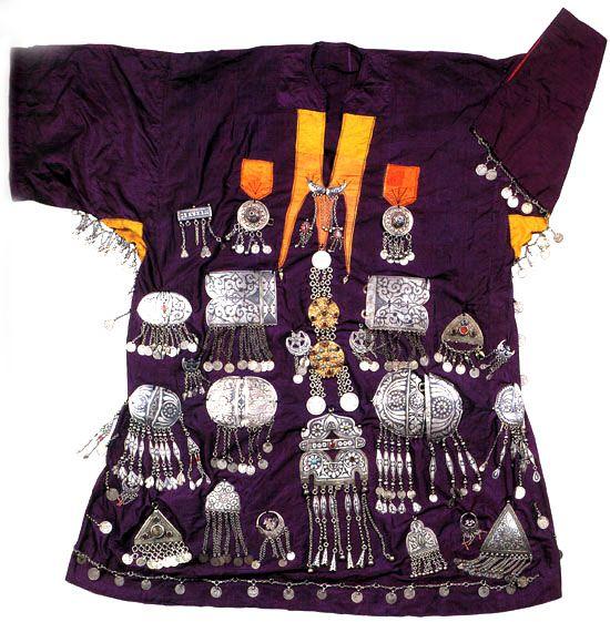 Avar or Lak costume from Dagestan