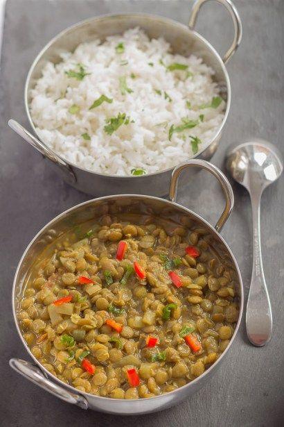 Green Lentil Dahl - Neils Healthy Meals