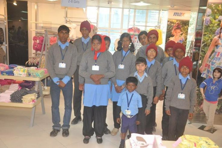 NGO kids from Srijan group