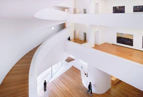 Oooooh! I LOVE this idea.  Alvaro Siza – Museu Iberê Camargo, Porto Alegre