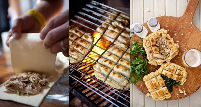 Pies on the Braai | Cooked in Africa