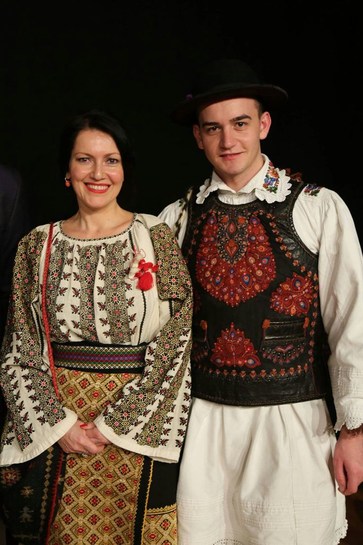 Romanian traditional clothing. c/o Cu Iosif pe coclauri
