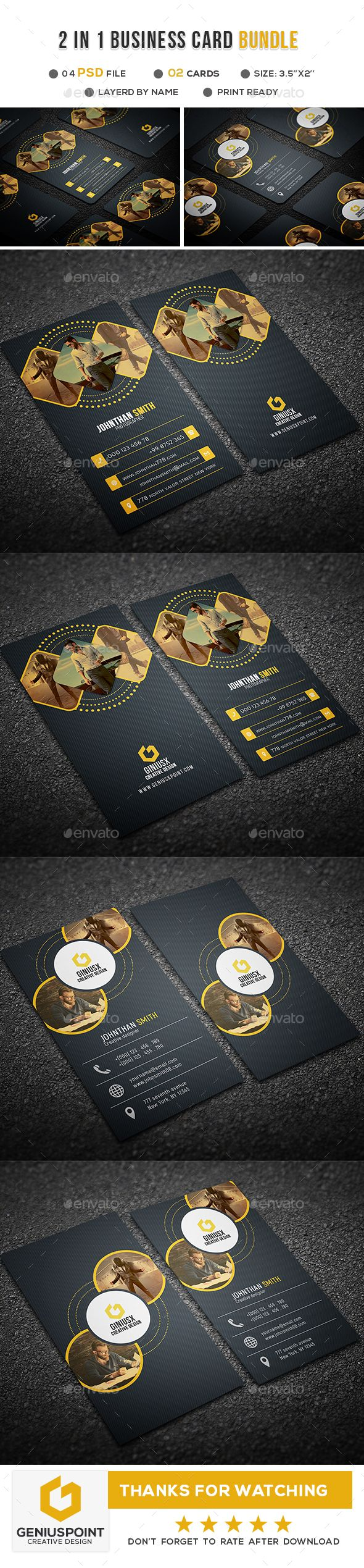 206 Best Business Cards Images On Pinterest Business Card Design