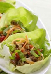 30+ Lettuce Wraps To Make: {With Both Meat & Poultry} ~ Looking for quick meal ideas? Try lettuce wraps! They can be made with ingredients as simple or as elaborate as you like, hitting the spot on hot summer days when you're wanting something a little lighter yet still satisfying.