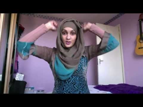 REQUESTED - Hijab Style Using DUPPATA - YouTube