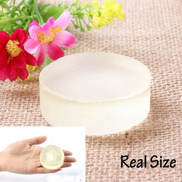 1PC Handmade Body Skin Whitening Soap Natural Active Crystals For Body Private Part 100% Top Good Hot Selling