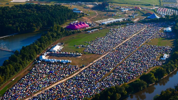 Welcome to tent city, Dreamville USA! | Dreamville Camping ...