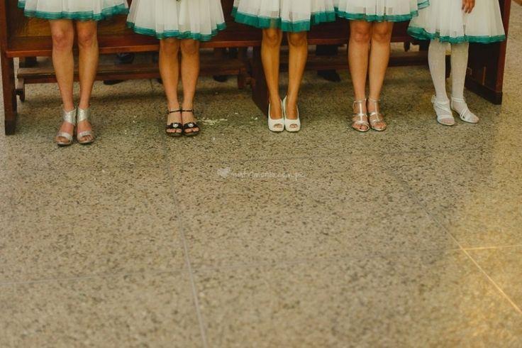 Zapatos para las damas de honor
