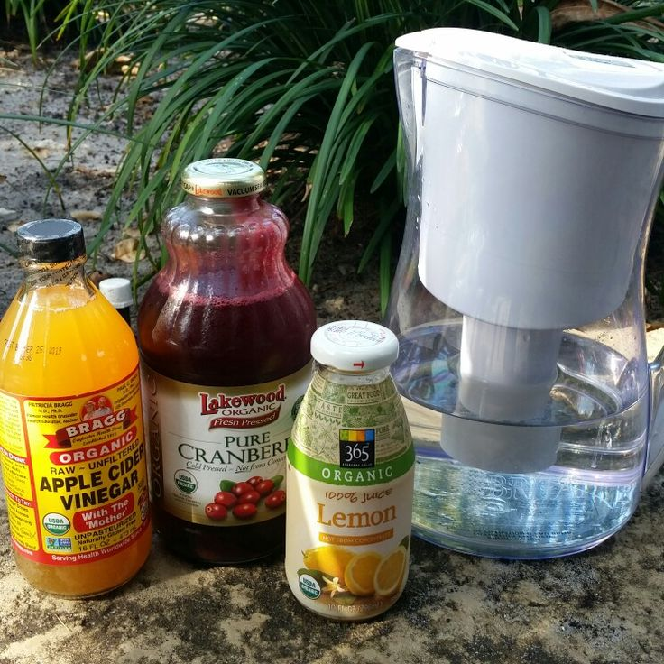 Detox easily in 14 days! Simple recipe and 7 simple steps. Look great, feel great! *** 7 easy steps with these ingredients...6 oz filtered H20 (alkaline or spring ok), + 2 oz 100% cranberry juice (no cran cocktail, sweetener, or blends), + 1 oz lemon juice (can buy lemons just takes more time to squeeze), + 1 tbs Braggs unfiltered apple cider vinegar (with the mother). Mix and drink 3x a day before meals. 14 days.  *