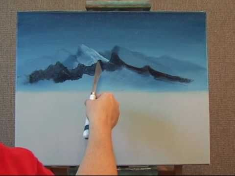 Learn How to Create A Foreground Mountain The Easy Way Part 1 (+lista d...