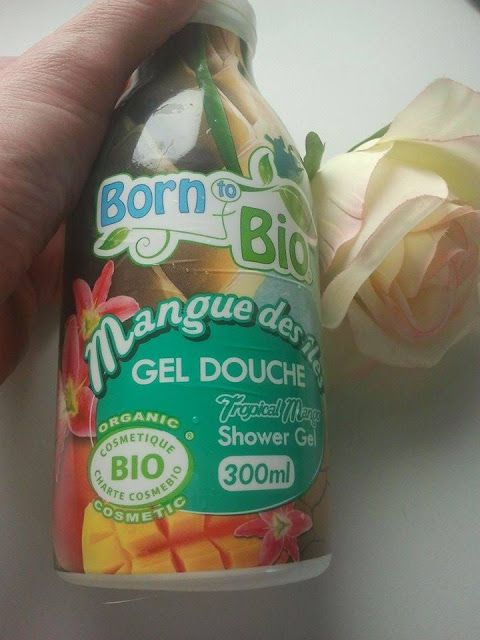 Born to Bio shower gel mango. Review | Joanna's cosmetics