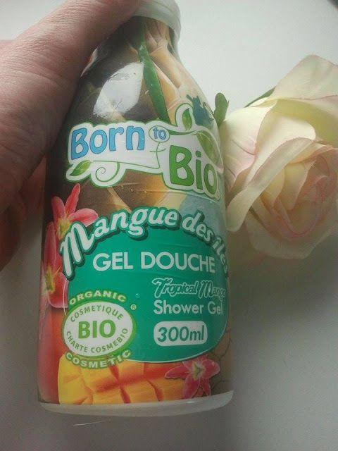 Born to Bio shower gel mango. Review | Joanna's cosmetics