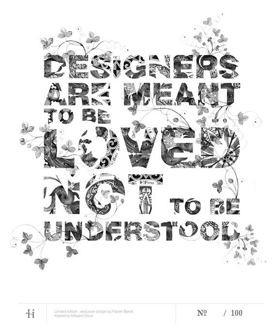 Designers Are Meant To Be Loved, Not Understood | The Fox Is Black