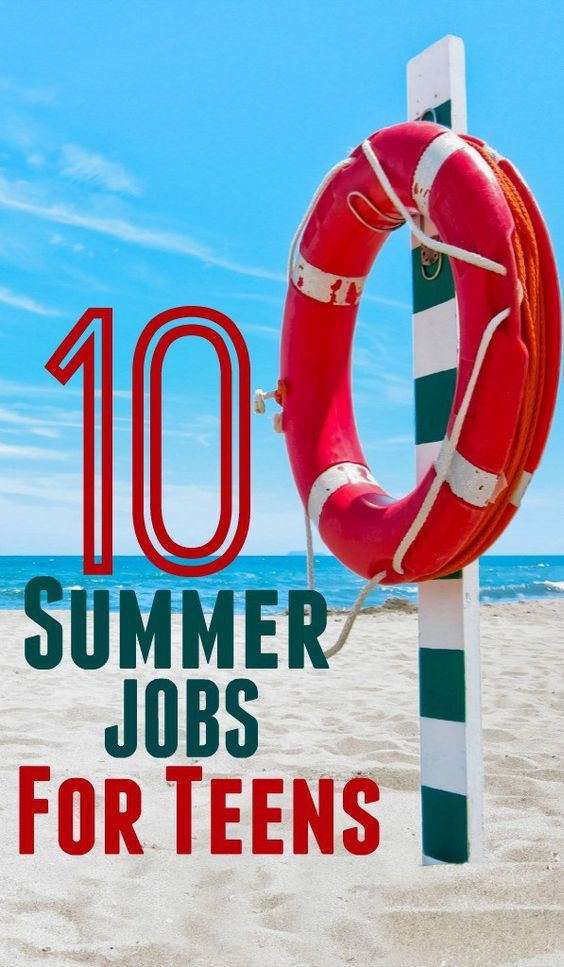 summer jobs for teens that your teen could rock this