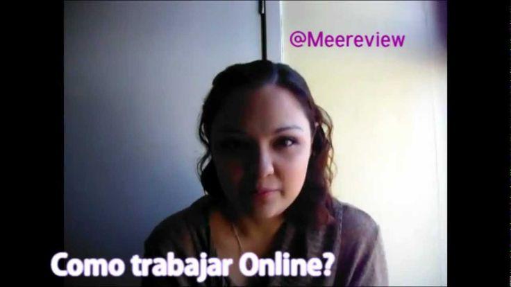 Como puedo trabajar por internet? / Donde puedo trabajar en internet?