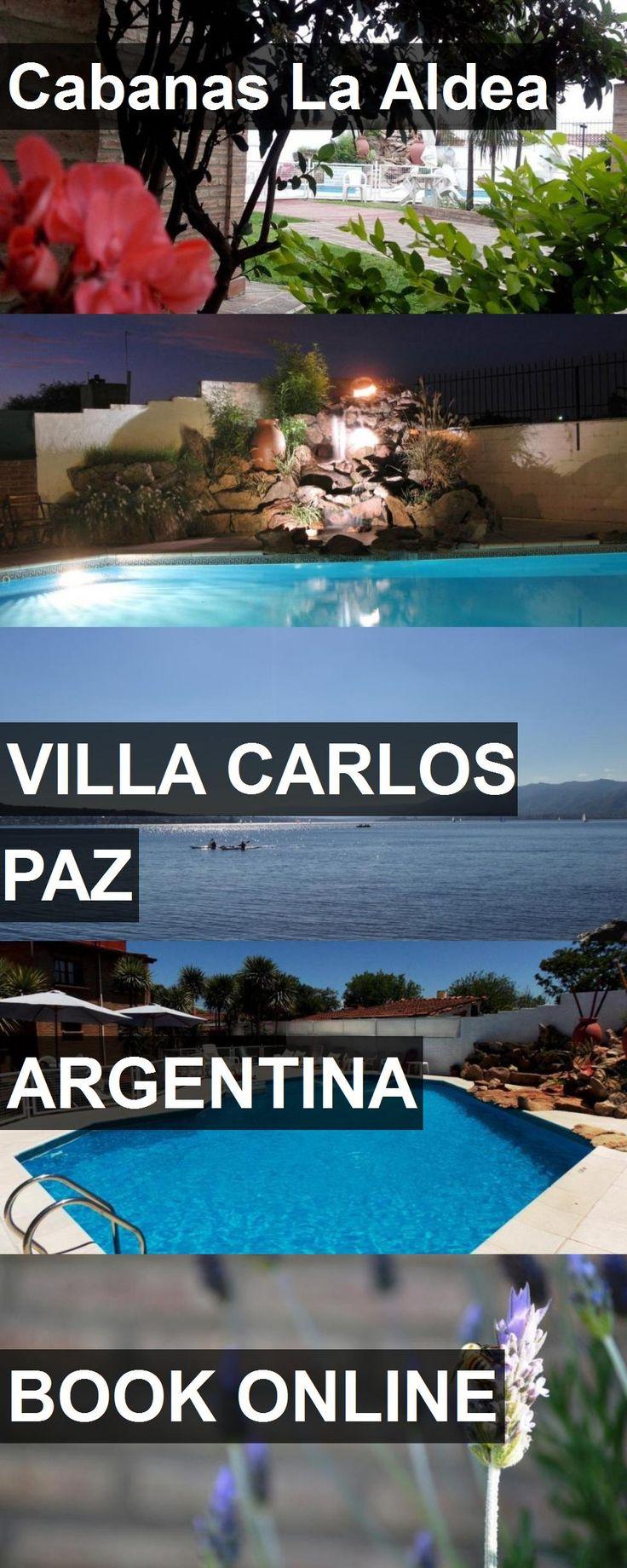 Hotel Cabanas La Aldea in Villa Carlos Paz, Argentina. For more information, photos, reviews and best prices please follow the link. #Argentina #VillaCarlosPaz #travel #vacation #hotel