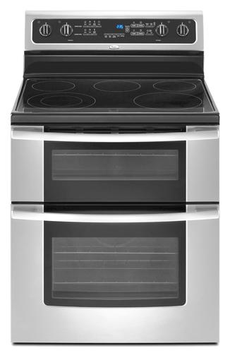 whirlpool double oven instructions