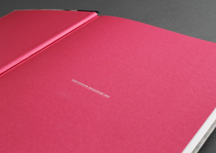 Rom Eiendom annual report 2012. Pinned from www.redink.no.