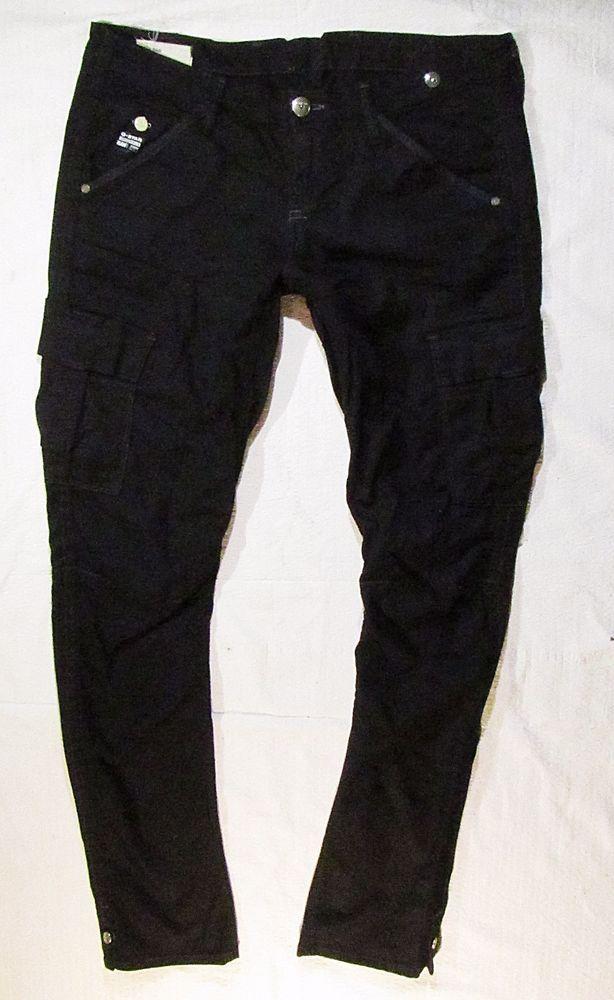 ladies jeans G-Star skinny leg black colour  with pockets L/XL #GStar #skinny