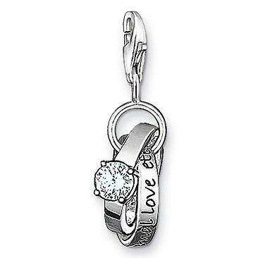 Thomas Sabo Charm Wedding Rings Charm