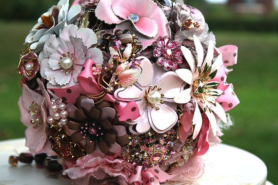 Sweets for your Love  vintage brooch GREAT by hairbowswonderworld, $525.00