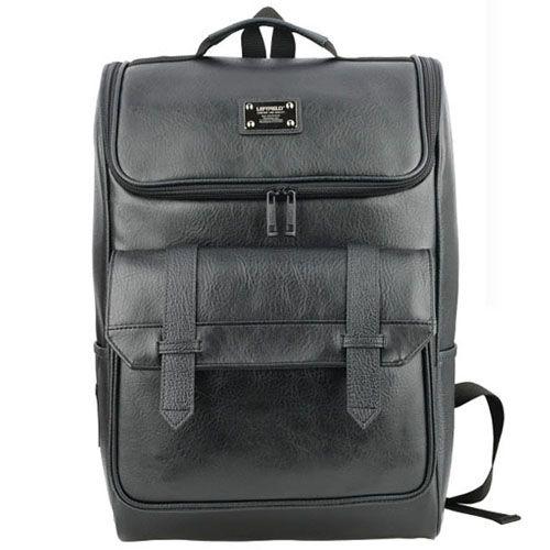 Best Backpacks for Laptops Faux Leather Backpack for Men LEFTFIELD 619 | chanchanbag.com | Design makes you feel satisfied Best Backpacks for Laptops.