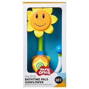 Make bathime fun with Young Ones My First Bathtime Pals Sunflower.  Baby will love the water-spraying action, just press the over-sized star button and...