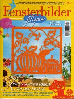 Fensterbilder filigran №7 2011 Fall/Halloween paper cutting patterns