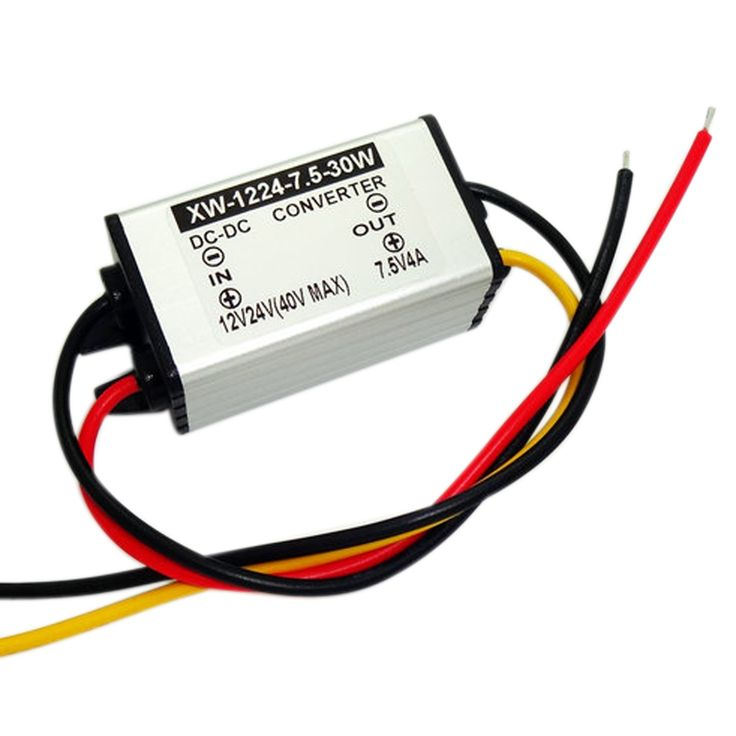 New Arrival Buck Module DC 12V/24V(9-40V) Step Down To 7.5V 4A 30W Power Supply Converter Voltage Regulator