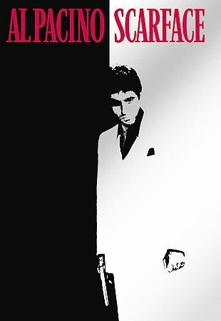 Scarface [PN1997 .S2153 2006] In 1980 Miami, a determined Cuban immigrant takes over a drug cartel while succumbing to greed. Director:Brian De Palma   Writer:Oliver Stone (screenplay) Stars:Al Pacino, Steven Bauer, Michelle Pfeiffer