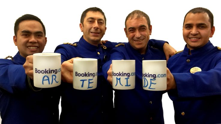 Coffee break for our Bell Boys