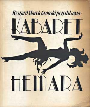 Kabaret Hemara, opr. Ryszard Marek Groński, PTWK, 1988, http://www.antykwariat.nepo.pl/kabaret-hemara-opr-ryszard-marek-gronski-p-1333.html
