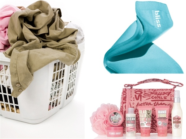 For the mom who needs a vacation: Bliss Softening Socks