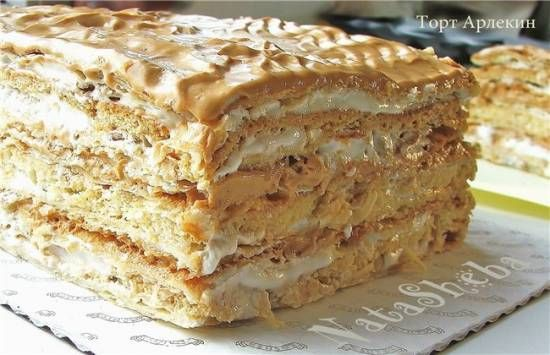 """Торт """"Арлекин"""" (Harlequin Cake)"""
