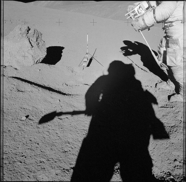NASA zveřejnila fotky z projektu Apollo