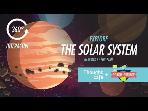 Explore The Solar System: 360 Degree Interactive Tour!We hear you're all pretty bummed about the end of Astronomy, so our friends@thought-cafe worked with Phil to create one more awesome treat for you guys and we're super excited to share it on the Crash Course channel. I highly recommend watching it in full screen at the highest resolution your system can handle. (Worth the wait to let it load, I promise!)Take a 360 degree virtual tour of ou