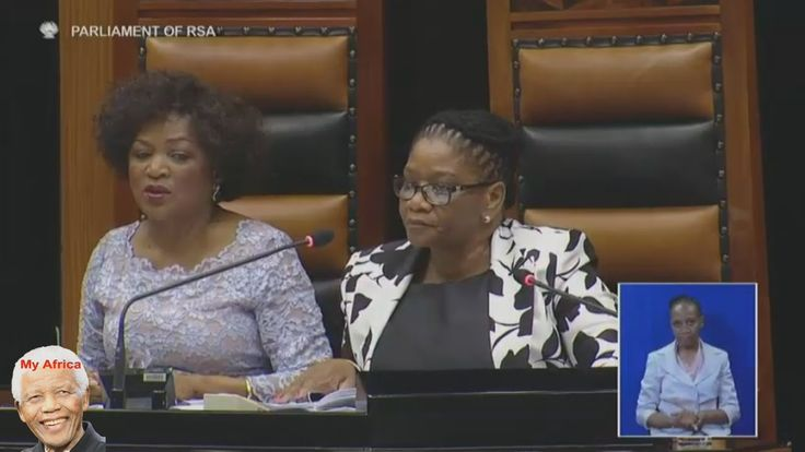 EFF vs Baleka Mbete And Jacob Zuma. Chaos At SONA 2016 - (a tip on how not to run a country)