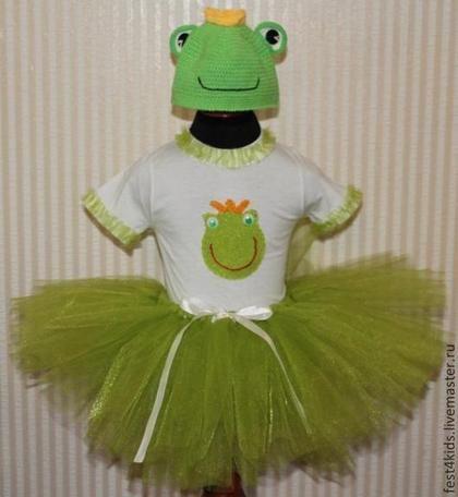 Костюм лягушки - зелёный,однотонный,лягушка,царевна лягушка,лягушонок