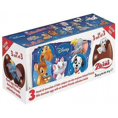 -in USA- Zaini Surprise Eggs - Disney Animal Friends -3 eggs
