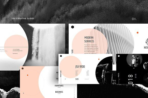 Planets Powerpoint Template By Dima Isakov On Creativemarket