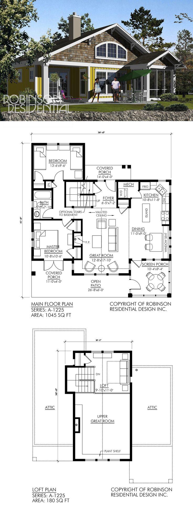 51 best Craftsman Home Plans images on Pinterest Floor plans