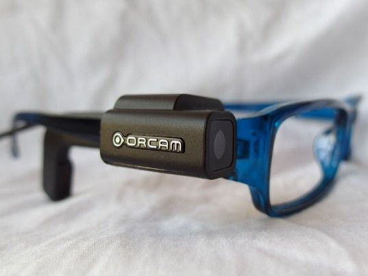 "The OrCam is a ""Google Glass""- Like Device That Aids the Visually Impaired"