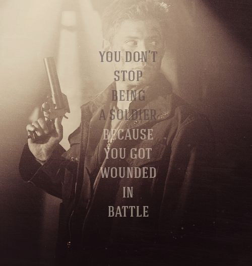 You Don't Stop #Supernatural #DeanWinchester
