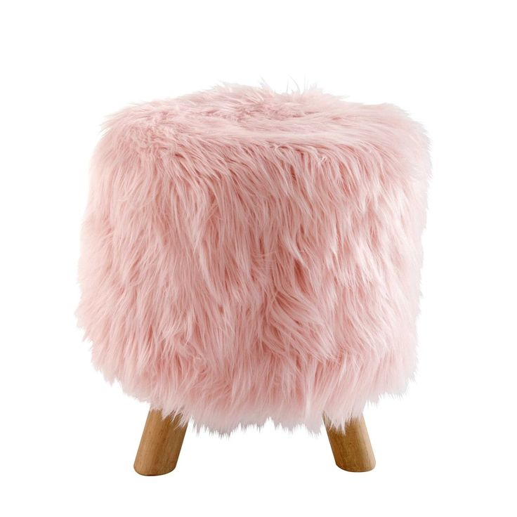 Best 25 Faux Fur Stool Ideas On Pinterest Fuzzy Stool