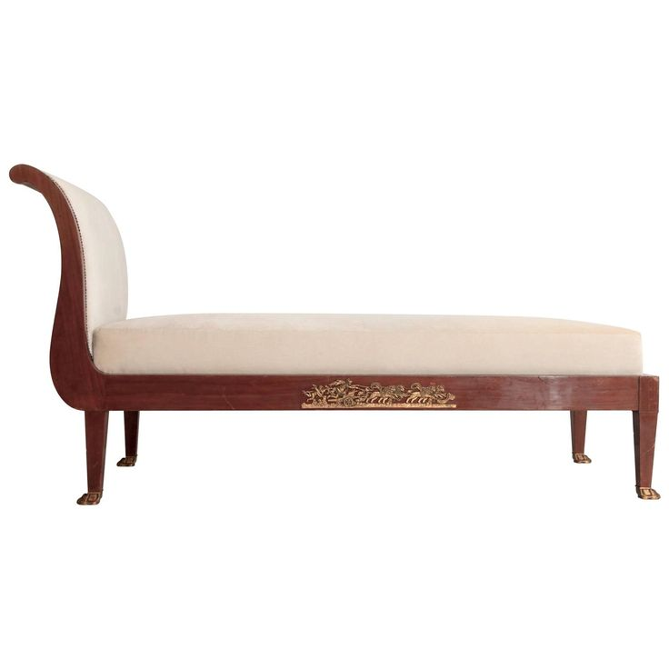French Empire Chaise