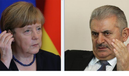 Binali Yıldırım ile Merkel'in telefon görüşmesi